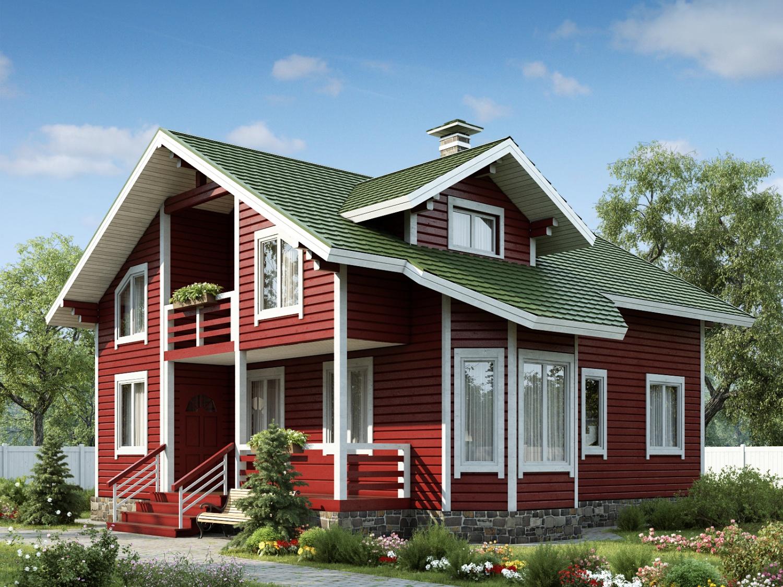 Каркасный дом (3)