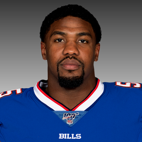 BILLS LB JERRY HUGHES