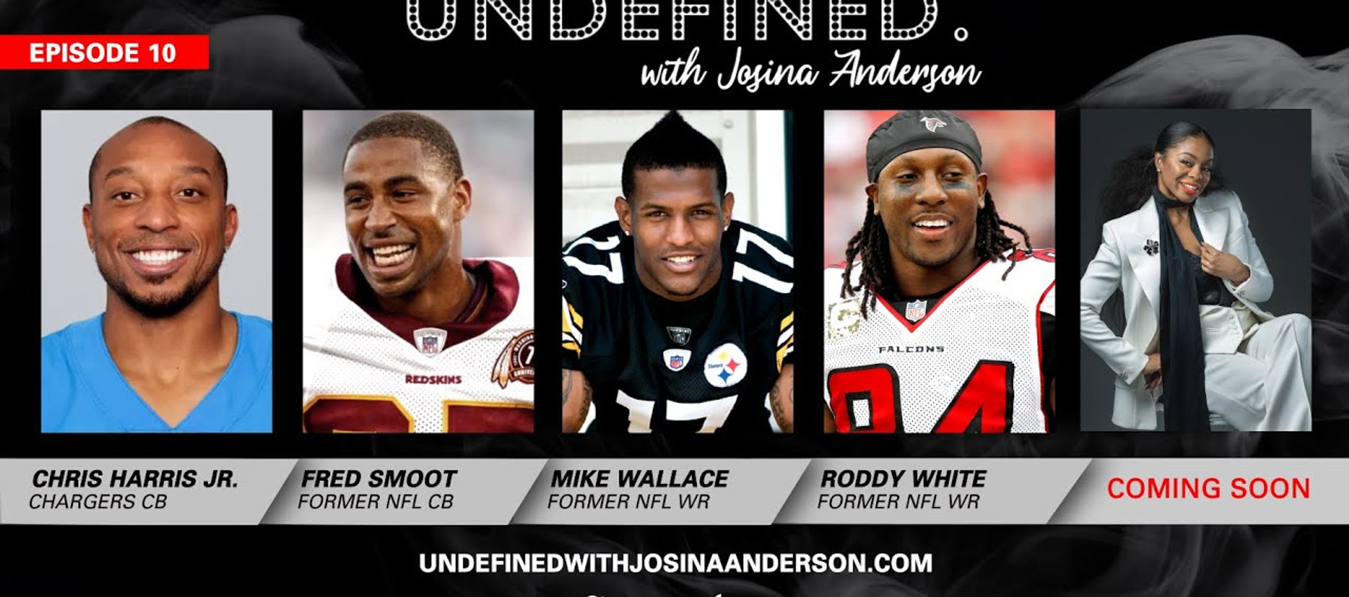 Episode 10: Chris Harris Jr. Fred Smoot, Roddy White, Mike Wallace