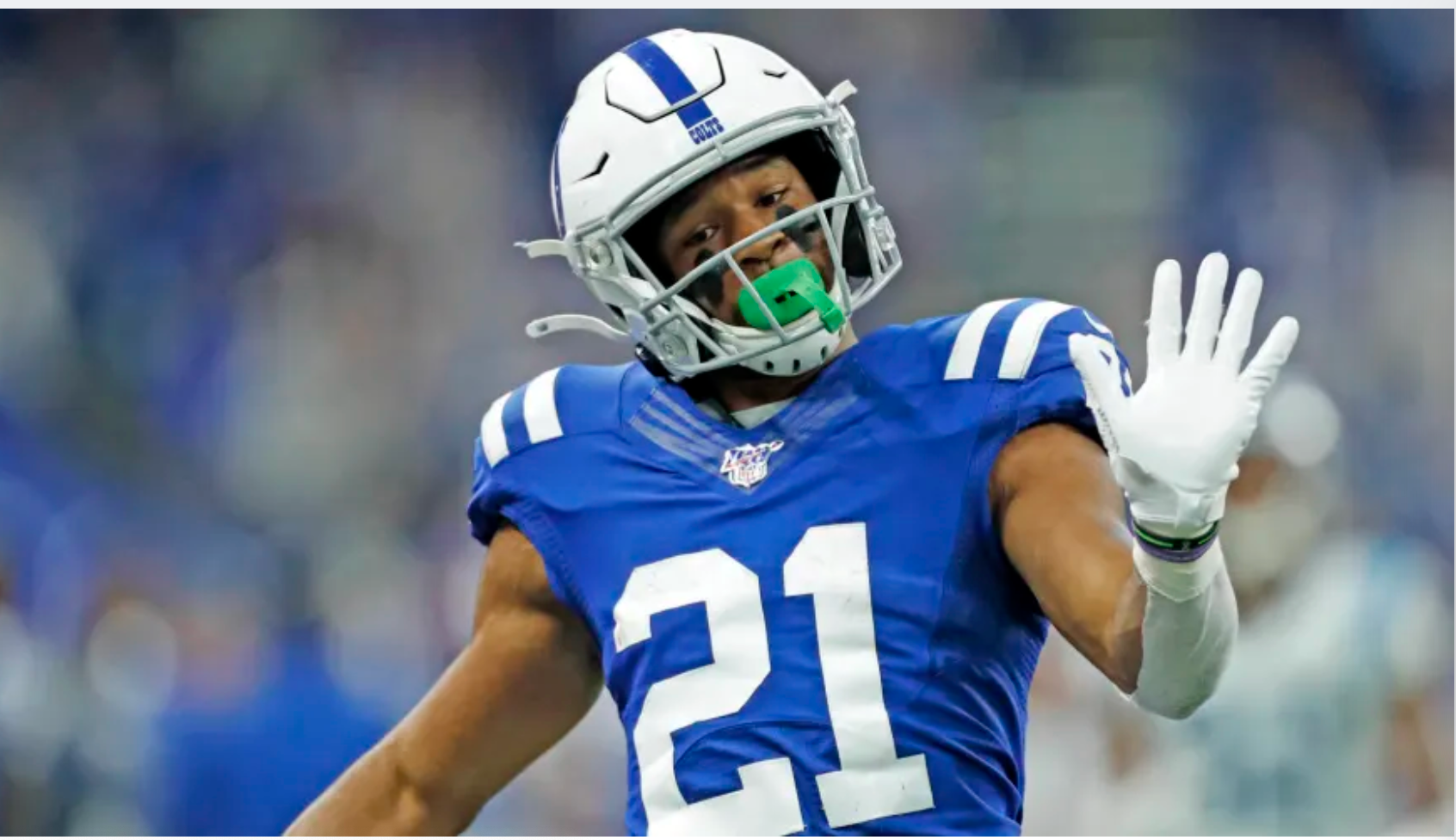 Colts RB Nyheim Hines