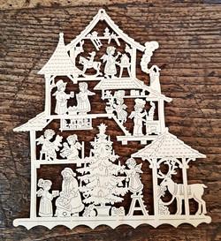 Weihnachtshaus - Krippen