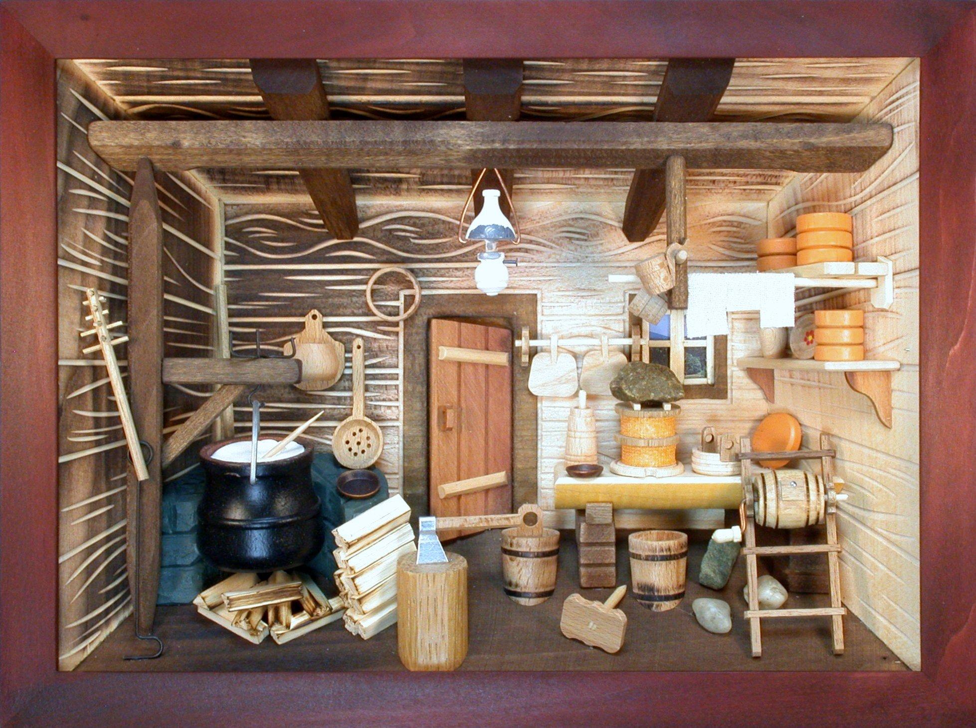 3D-Holzbilder