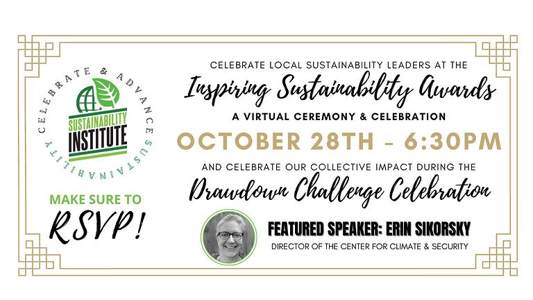 2021 Inspiring Sustainability Awards & Drawdown Challenge Celebration