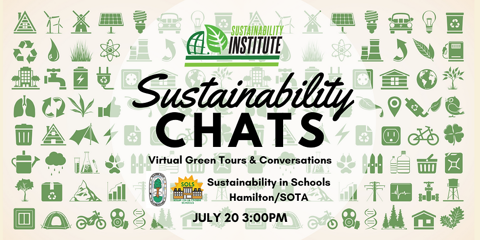 Sustainability Chats & Virtual Green Tour - Sustainability in Schools