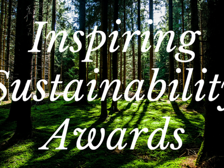 Announcing the 2020 Nominees for the Inspiring Sustainability Awards!