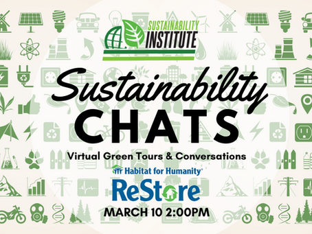 They do what?!? - Sustainability Chats with Habitat ReStore!