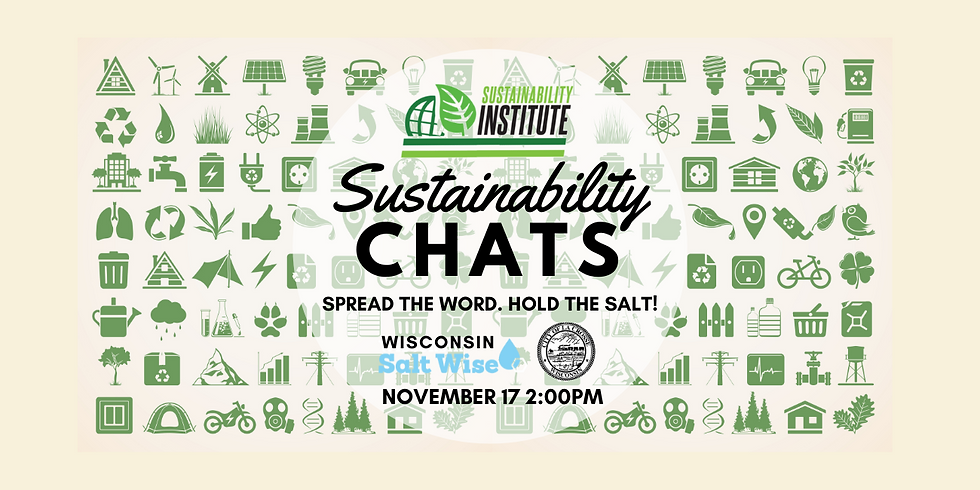 Sustainability Chats - Spread the Word. Hold the Salt!