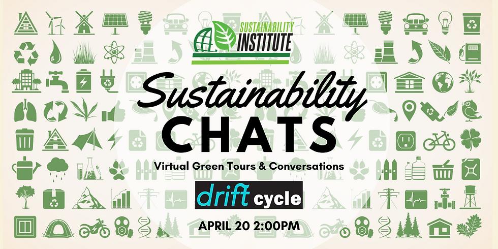 Sustainability Chats & Virtual Green Tour - DRIFT Bike Share
