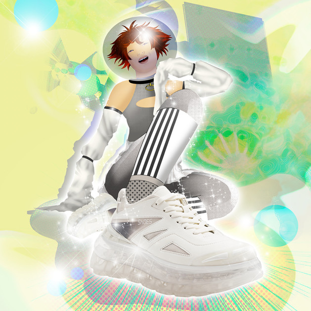 Gabrielle Rosenstein Illustration Campaign for SHOES 53045 featured at B.Space, Shibuya 109, LHP Tokyo, and GR8 Creative Direction: Aurelia Ammour Fashion: Bump'Air collection by SHOES 53045