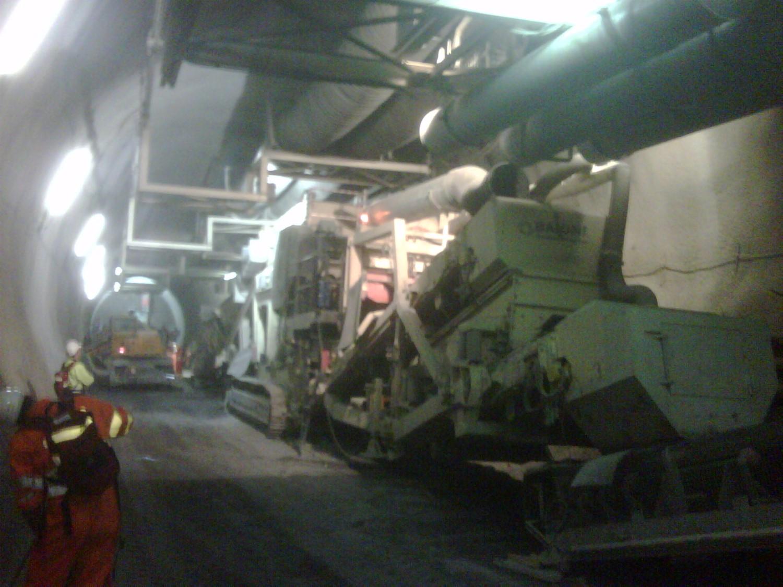 Ceneri Rail Tunnel, Switzerland