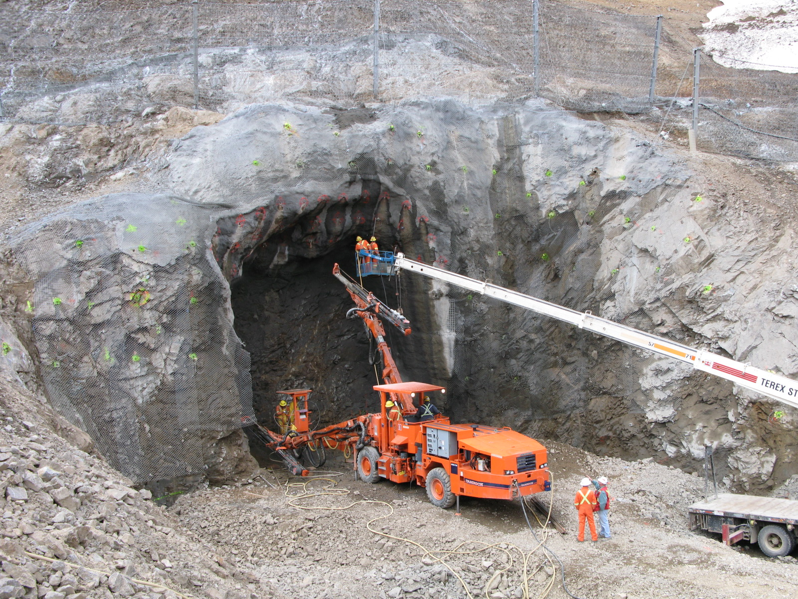 Galore Mine Access Tunnel
