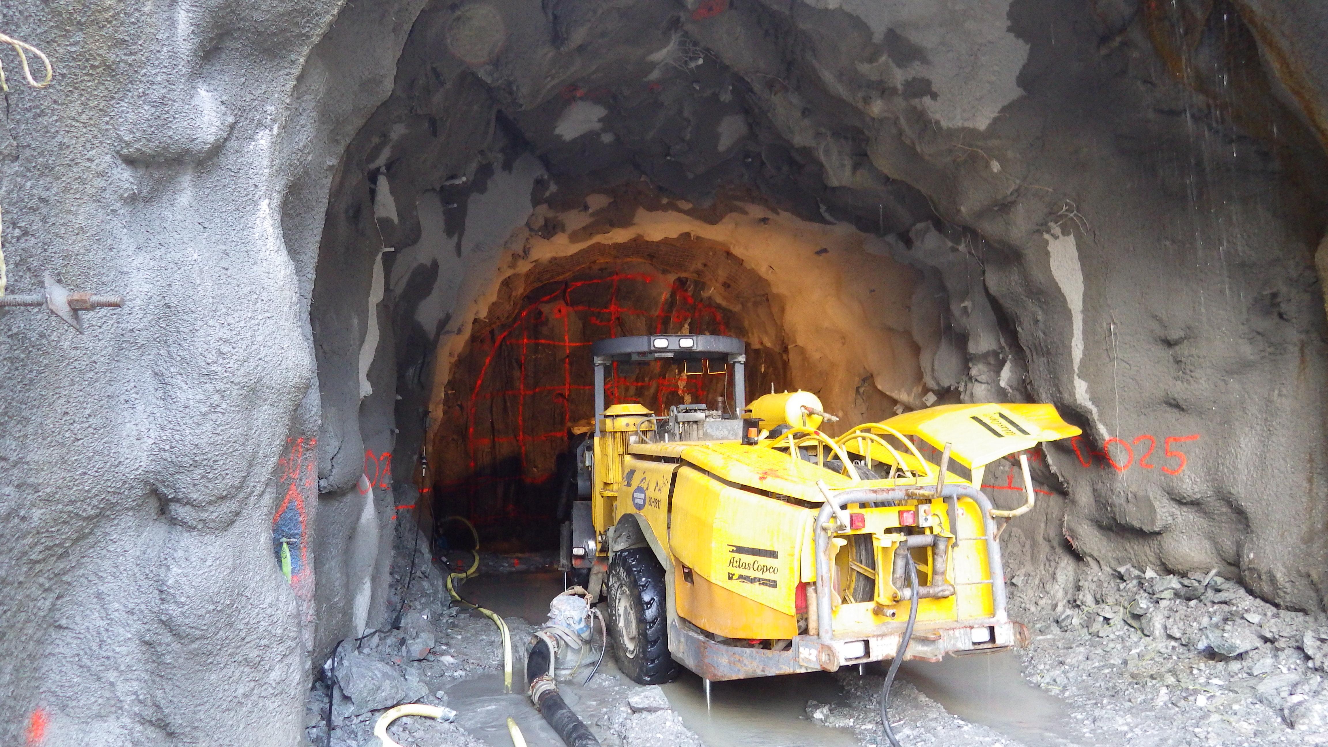 Big Silver Tunnel - Upstream