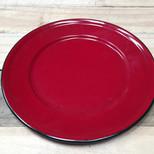 Plato rojo