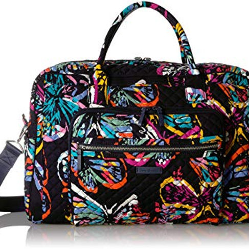 Iconic Weekender Travel Bag Butterfly Flutter