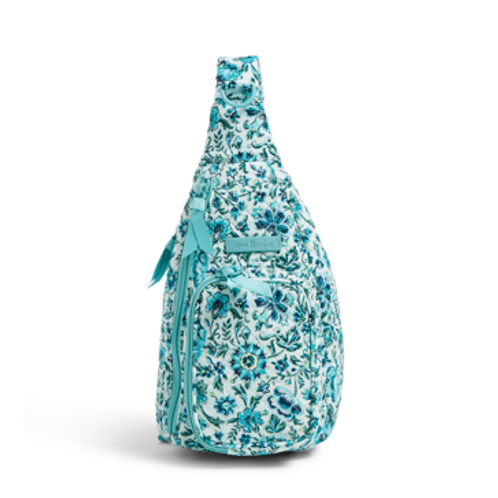Vera Bradley Iconic Mini Sling Backpack - Cloud Vine