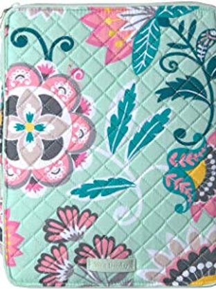 Iconic Tablet Tamer Organizer Mint Flowers