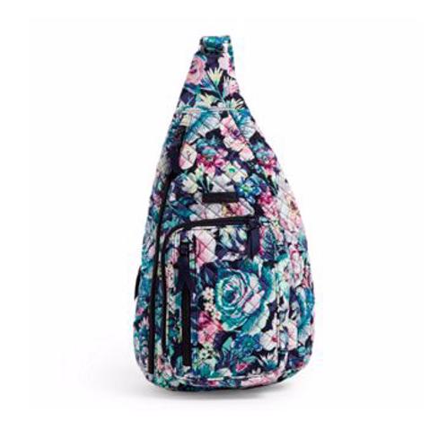 Vera Bradley Iconic Sling Backpack - Garden Grove