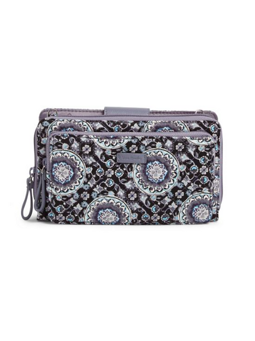 Iconic Deluxe All Together Crossbody Charcoal Medallion