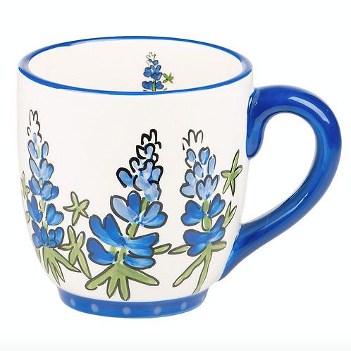 Blue Bonnet Mug