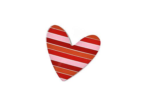 Coton Colors Striped Heart Mini Attachment