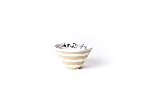 Coton Colors Cobble Stripe Be Happy Mod Small Bowl