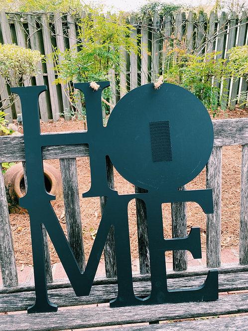 Home Sign Black