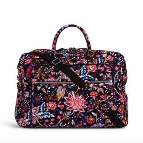 Vera Bradley Grand Weekender Travel Bag - Foxwood