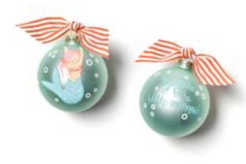 Mermaid ornament Coton Colors