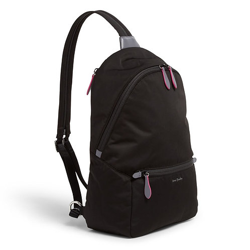 Midtown Convertible Backpack Black