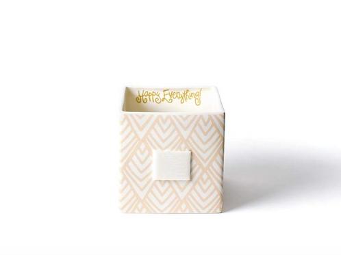 Blush Layered Diamond Mini Nesting Cube Medium