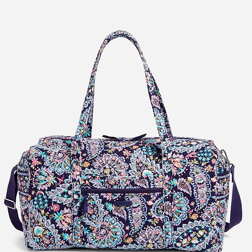 Large Travel Duffel Bag French Paisley