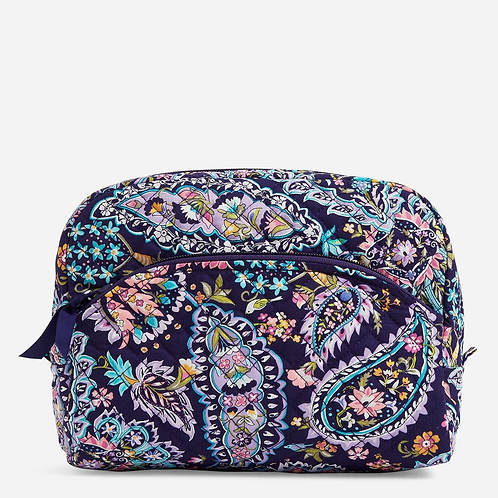 Large Cosmetic Bag French Paisley