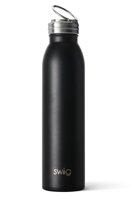 Swig Matte Black Bottle (20oz)
