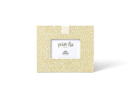 Coton Colors Gold Small Dot Mini Frame