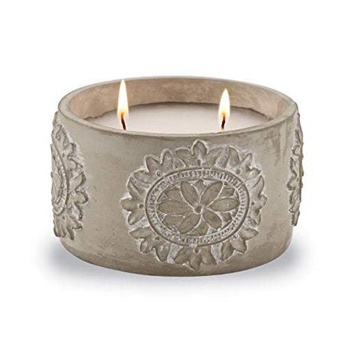 Mudpie Concrete Citronella Candle