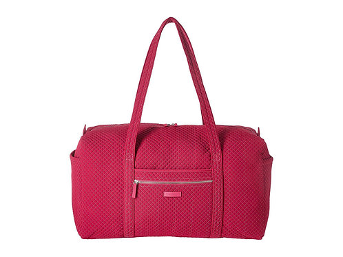 Iconic Large Travel Duffel Passion Pink