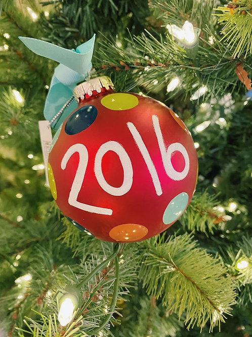 2016 Ornament