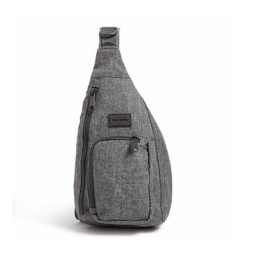 Vera Bradley ReActive Mini Sling Backpack - Gray Heather