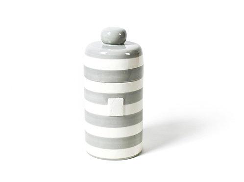 Coton Colors Stone Stripe Mini Canister