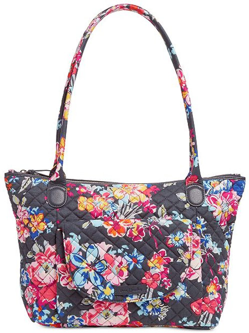 Carson East West Tote Pretty Posies