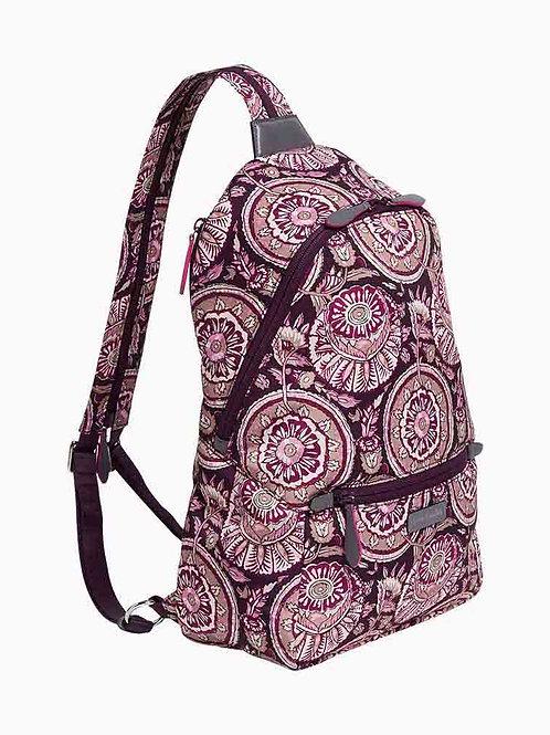 Midtown Convertible Backpack Lei Flowers