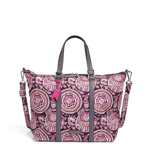 Midtown Small Tote Lei Flowers