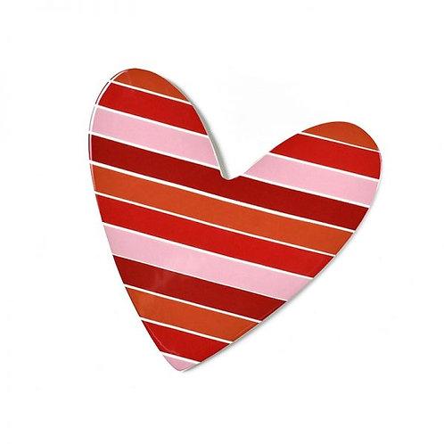 Coton Colors Striped Heart Big Attachment