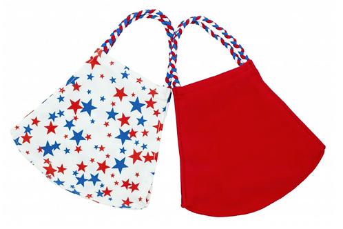 Pomchies mask set of 2- Liberty Stars