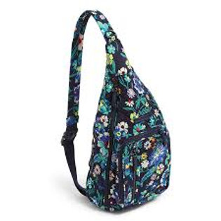 Iconic Sling Backpack Moonlight Garden