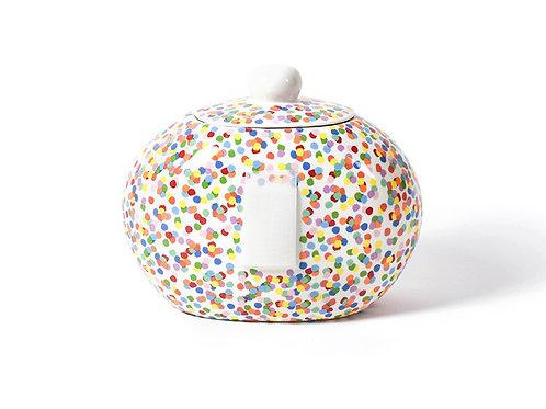 Coton Colors Toss Big Cookie Jar