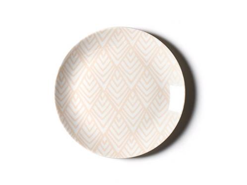 Blush Layered Diamond Dinner Plate