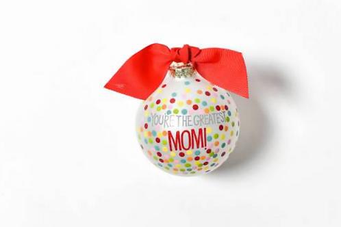 Greatest Mom Ornament