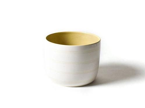 Coton Colors White Plank Party Bowl