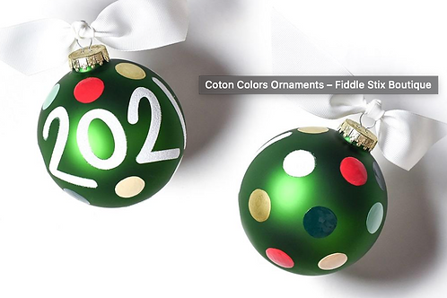 2021 Coton Colors Ornament